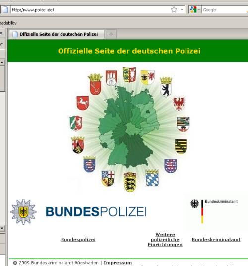 Notruf 110 - die 110.de der deutschen Polizei