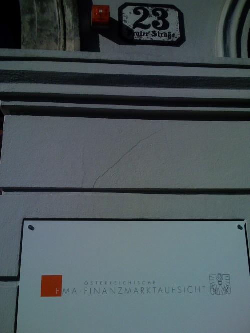 Illuminaten bei der Finanzaufsicht in Wien