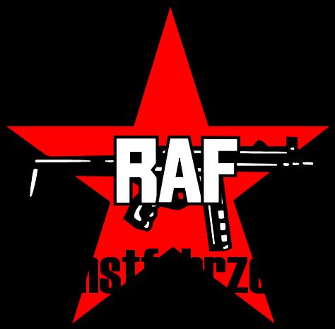 RAF Dienstfahrzeug Logo Aufkleber