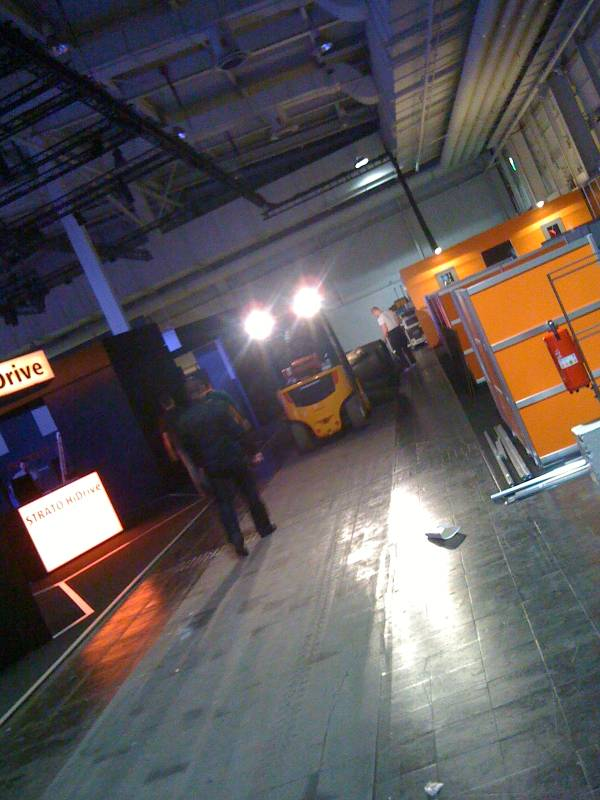 CeBIT 2010, Abbauimpression
