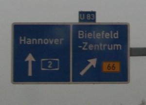 Bielefeld, Route 66