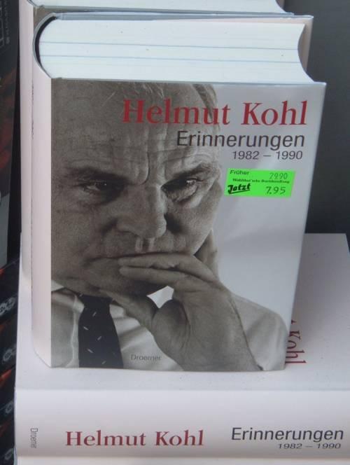 Helmut Kohls billige Erinnerungen