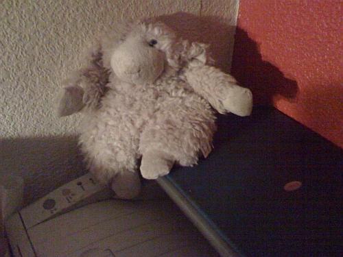 Monitortierchen, gerettet: ein Schaf mit neuem Zuhause (Drucker und Scanner)