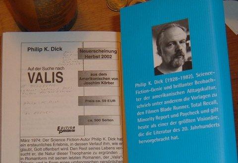 Philip K. Dick, Valis, zugeklappt