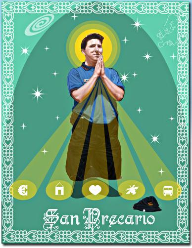 San Precario, der Heilige Prekarius