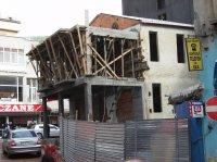 Hauswrack in Fatih, Istanbul