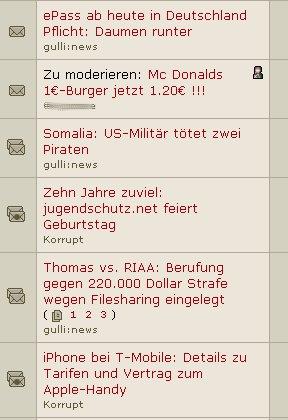 Zielgruppe der gulli:news