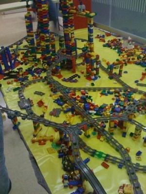 Lego - Turingbahn auf dem 25c3