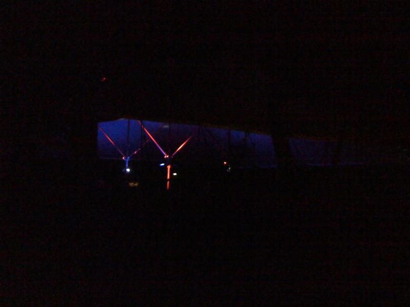 HAR 2009, erste abendliche Lichtinstallation