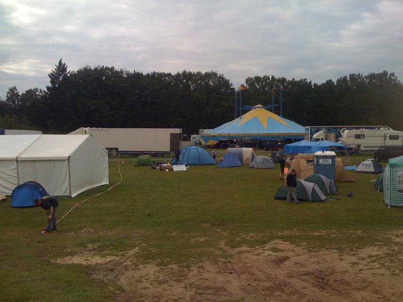 HAR2009: Kurzes Zirkusgastspiel