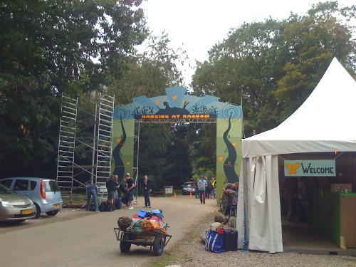 HAR2009, Tag 1: der Eingang