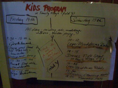 HAR2009: Kinderprogramm