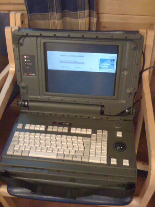 HAR2009, der schönste Laptop von der Hacking At Random