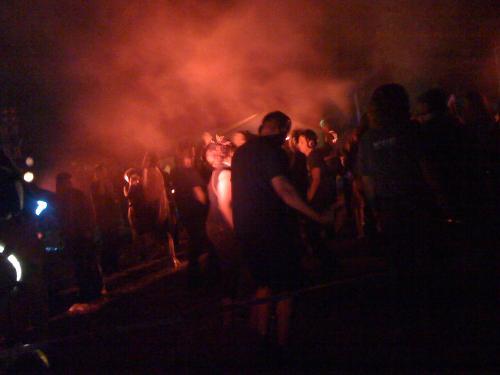 Silent Disco auf der HAR2009