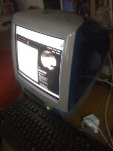 iMac, OS 9.1 und rennt