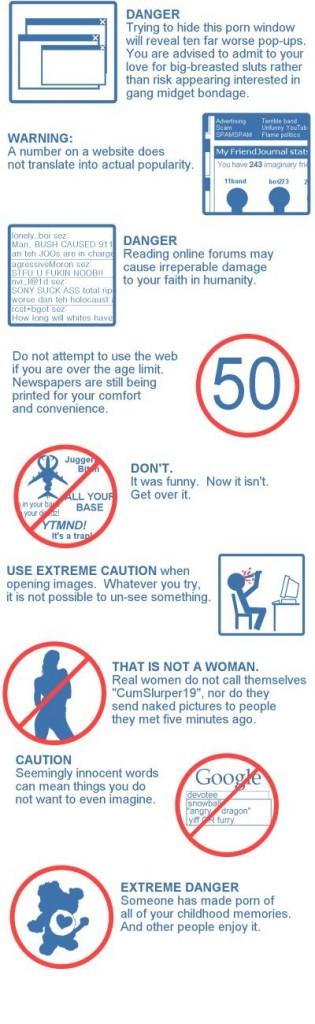 Sinnvolle Internet-Warnungen