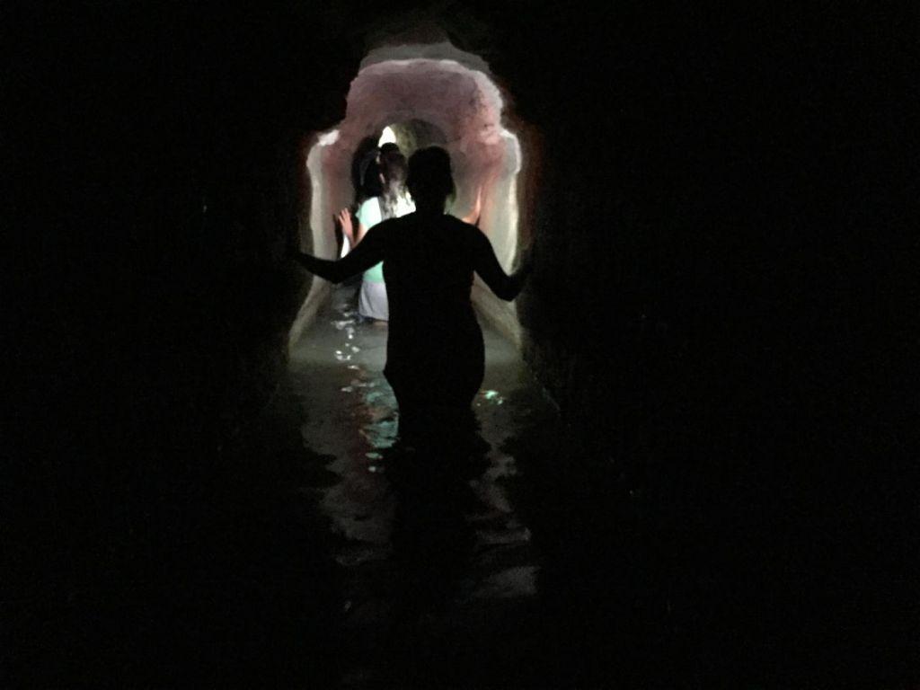 Tunnel zum Aquädukt