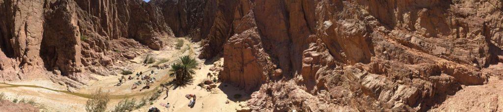 Lagerplatz von oben, Sinai