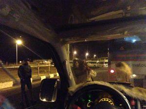 Checkpoint am Sinai - Konvoi-Zusammenstellung