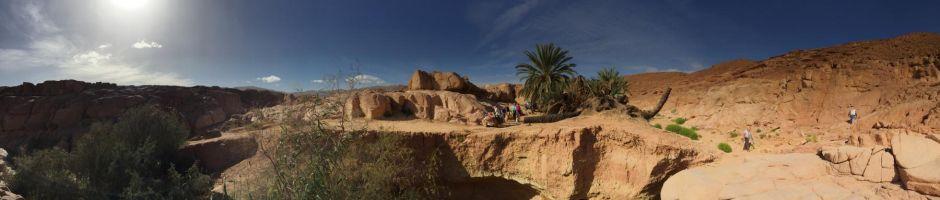 Oasenpanorama, Sinai2017