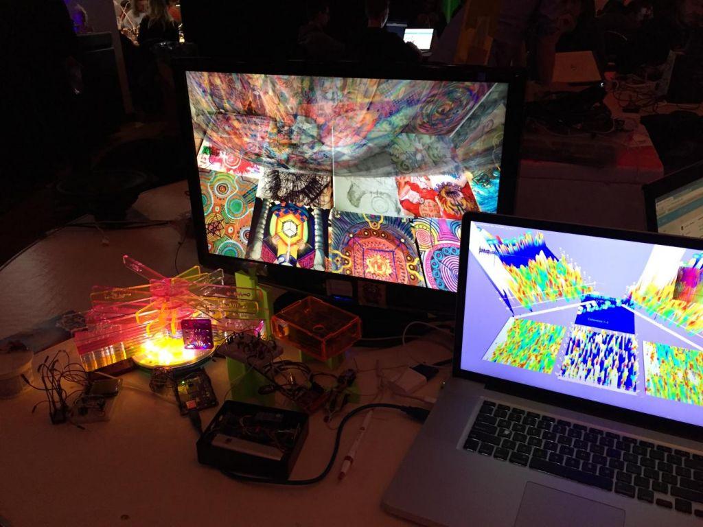 Hirnwellensteuerung in einer VR