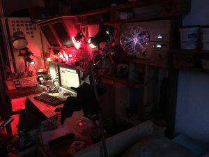 Nachtarbeitsplatz