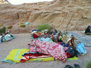 Traditionelles Wüsten-Übernachten
