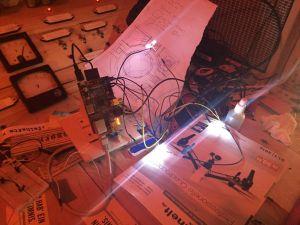 LEDs, test-angeschlossen...
