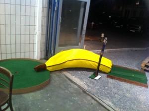 Supagolf, Minigolf-Bananenbahn