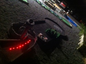 Supagolf, Star Wars-Minigolfbahn