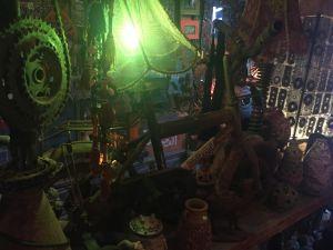 Upcycling-Shop in Dahab, alles leider zu schwer.