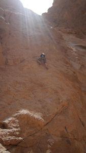 Klettern: Granit gibts, aber leicht sandgestrahlt