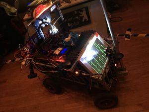 Fahrbarer 3D-Drucker