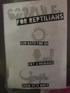 36C3-Regeln für Reptiloide