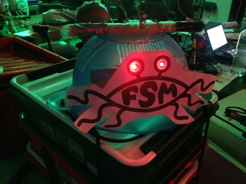 All hail FSM.