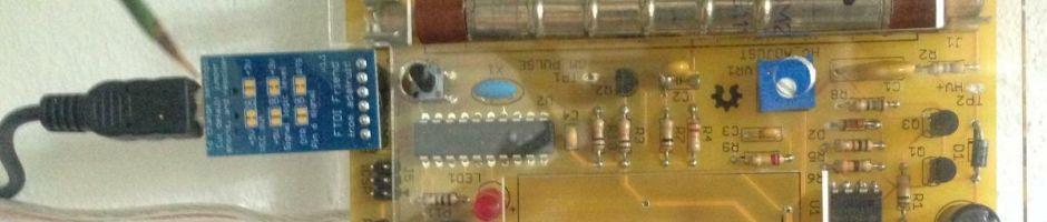 Geigerzähler, Netz-Stromversorgung, seriell angebunden