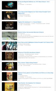 Hörbücher bei Youtube. Durchaus beeindruckend.