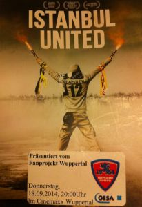 Istanbul United. Flyer in Wuppertal