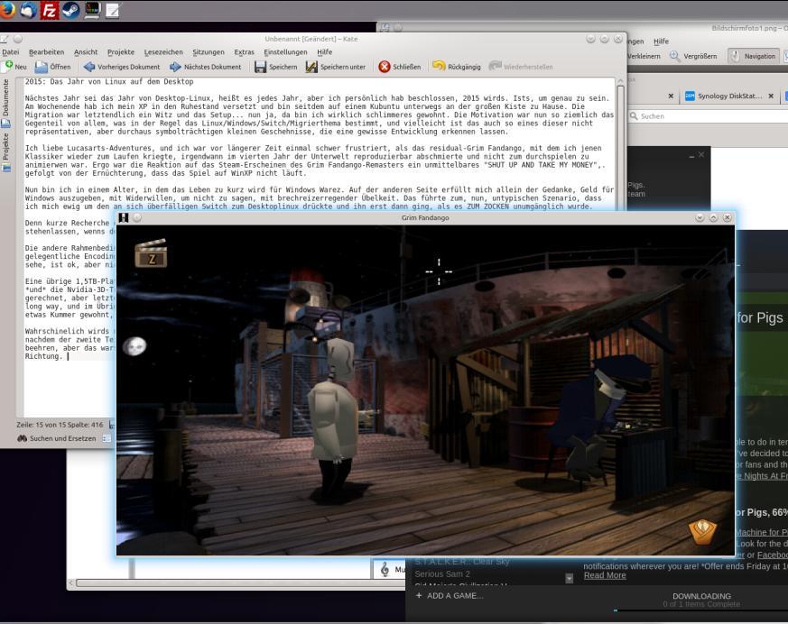 Zocken auf dem Linux Desktop