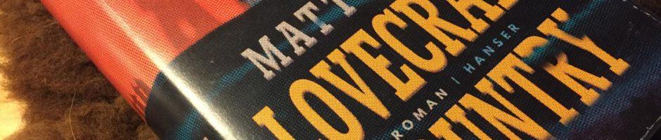 Matt Ruff, Lovecraft Country. Ich empfehls gern weiter.