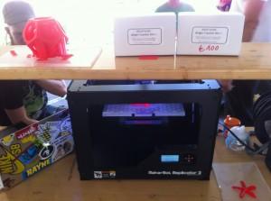 ohm2013, Makerbot und Geiger-Bausatz