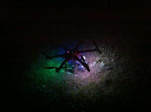 Drohne, eine von unseren. Nacht, OHM2013