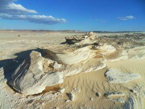 Sandstrahlfelsen