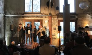 Social Sculpture Award Preisverleihung 2019 Utopiastadt, Hutmacher