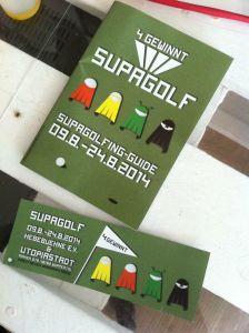 Supagolf 4 Gewinnt, 2014 - Bahnenheft