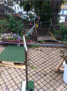 Supagolf 2014, Garten-Golfbahn 1