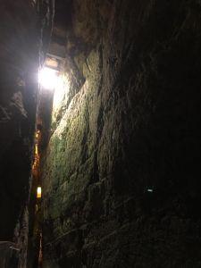 Klagemauer, unterirdischer Teil