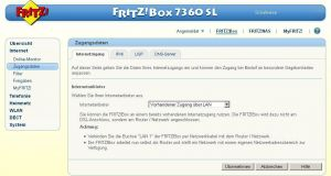 Interner Router für Unitymedia mit fester IP einrichten