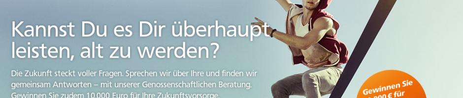 Volksbank-Werbung