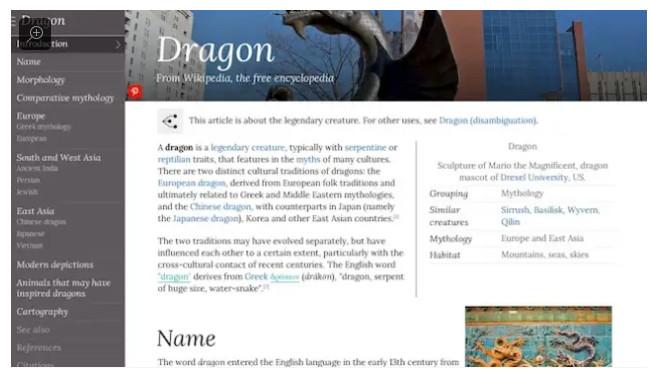 Wikiwand: Dragon, 2014
